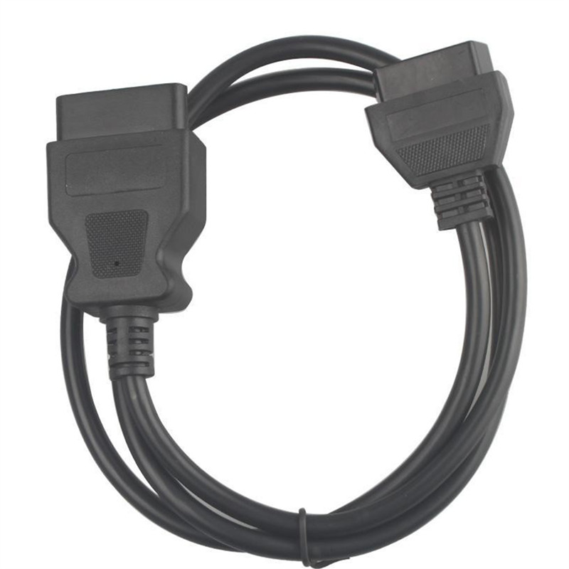 16Pin Male to OBD Female Extension Cable 1 meter
