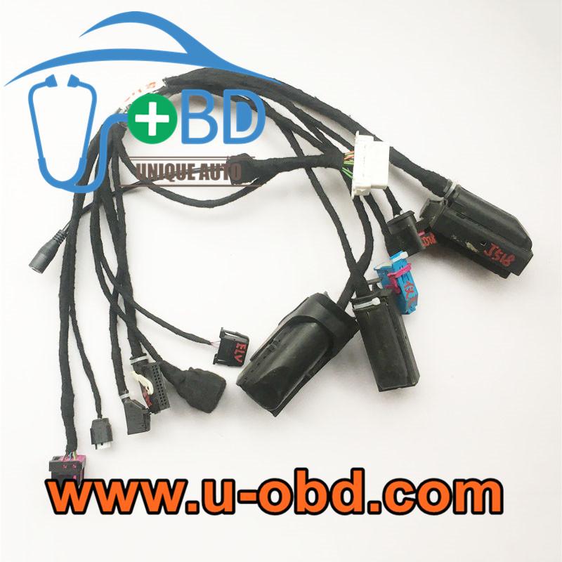 4th Gen AUDI A8 KESSY key adaption harness