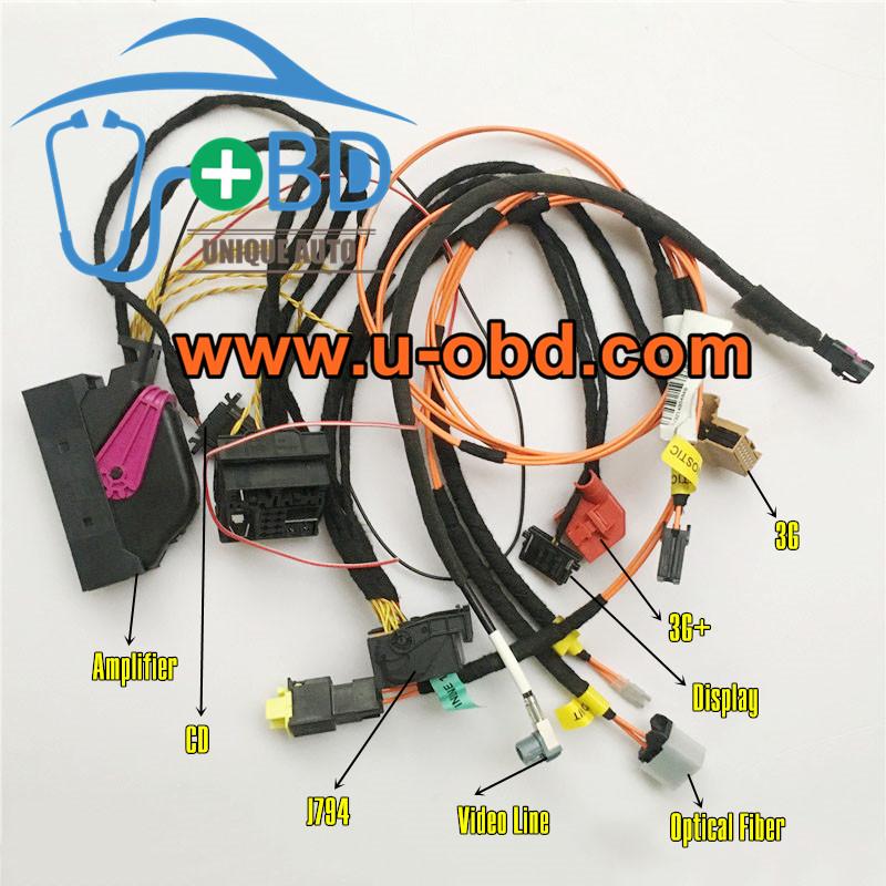AUDI J794 3G 3G Plus MMI Multimedia head unit test platform