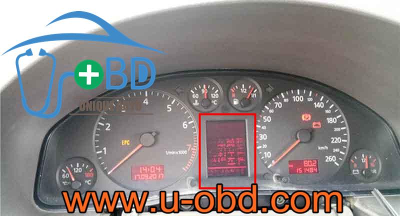 AUDI VOLKSWAGEN SEAT VDO LCD screen instrument cluster display