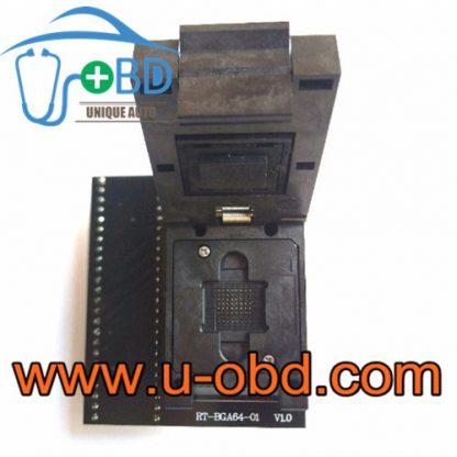 Audi BMW Audio host BGA64 chip sockets flash adapter
