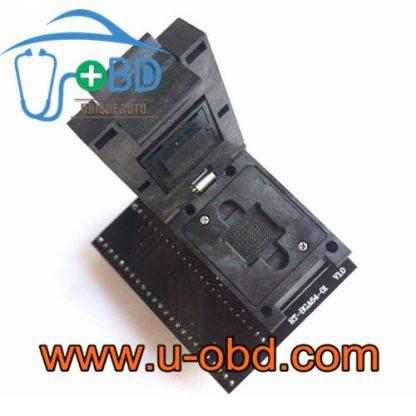Auto Audio host BGA64 EMMC NAND Sockets flash adapter
