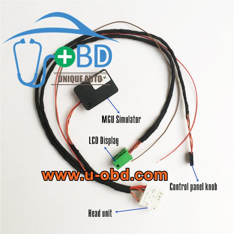 BMW Head unit MGU Idrive 7 test platform