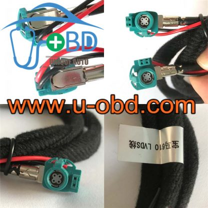 BMW LVDS wire NBT Audio host video display cables EVO tranfer wire video cables