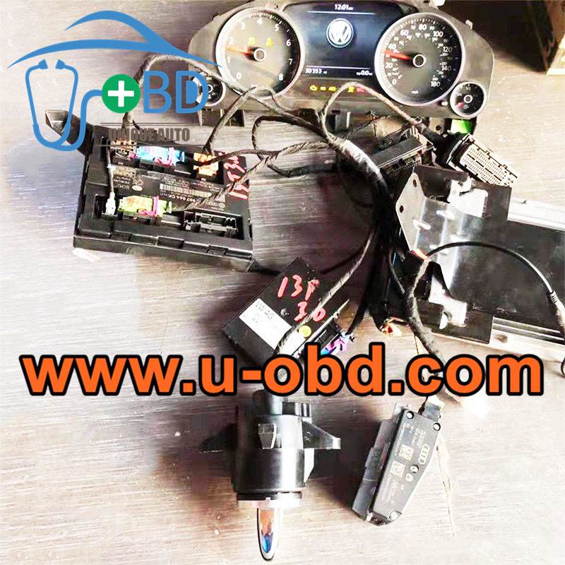 TOUAREG 5th Generation Immobilizer type test platform key programming harness