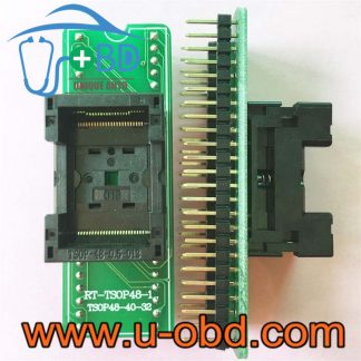TSOP48 48 PIN sockets flash programming adapters TSOP32 TSOP40