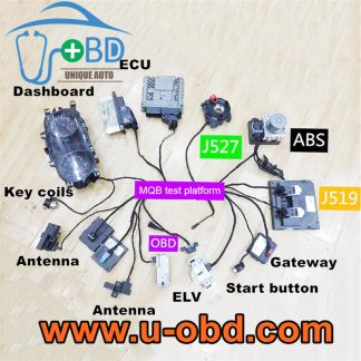 VOLKSWAGEN MQB smart key programming harness full set test platform