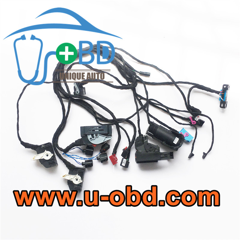 VOLKSWAGEN MQB smart key programming on bench cables