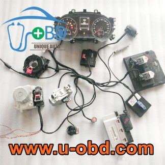 Volkswagen MQB intelligent key adaption harness full function test platform