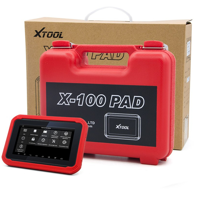 XTOOL X100 PAD Tablet auto Key Programmer with EEPROM ...
