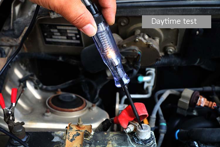 Car voltage test