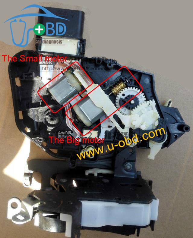 land rover lock motor