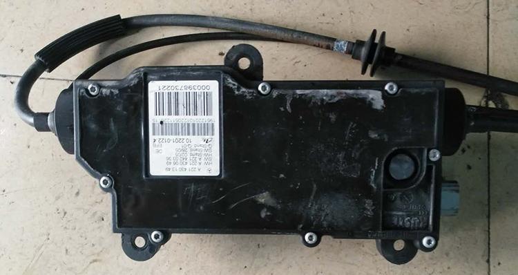 Benz s300 hand brake motors 2 u ecu for Mercedes benz brake tools