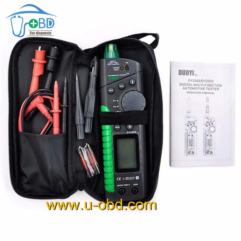 www.u-obd.com | circuit tester