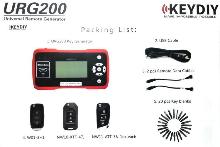 UGR200 KEYDIY900