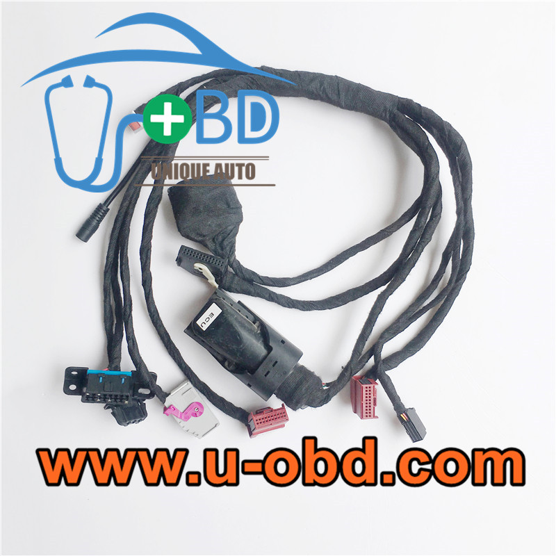 AUDI A6 Q7 ELV module J518 key programming harness test platform cables