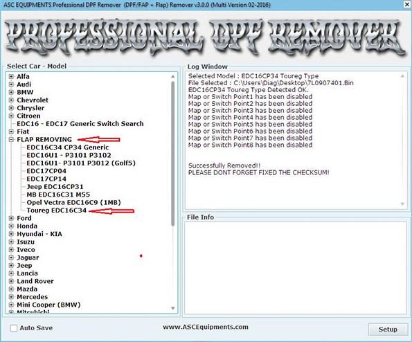 Free Download Professional DPF+EGR REMOVER