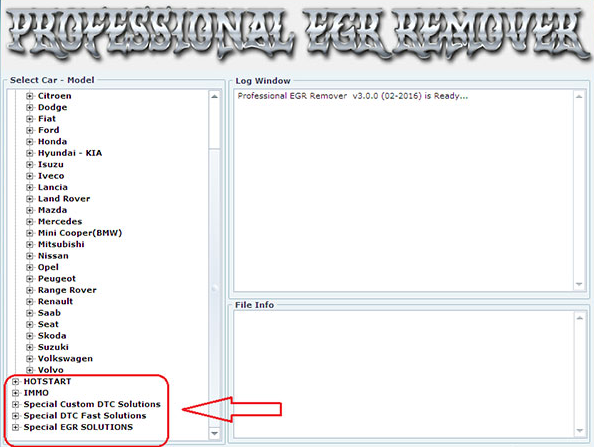 Free Download Professional DPF+EGR REMOVER