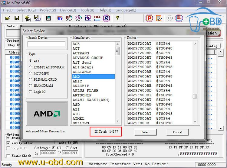 Software | www u-obd com | ECU components | Diagnostic devices