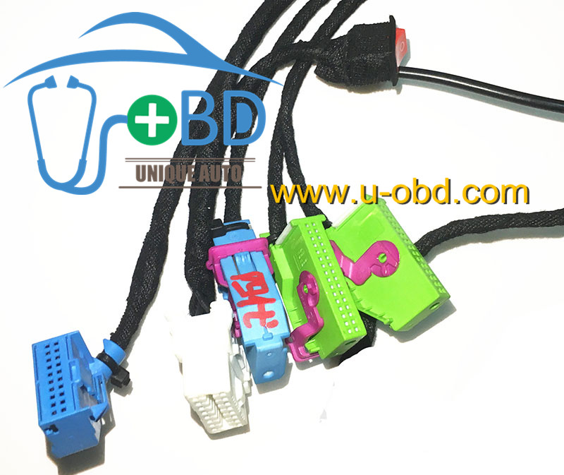 Volkswagen 35xx test platform VAG key adaption cables