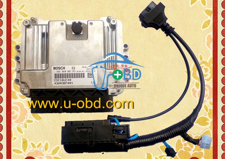 BOSCH EDC16C40 ECU Quick plug