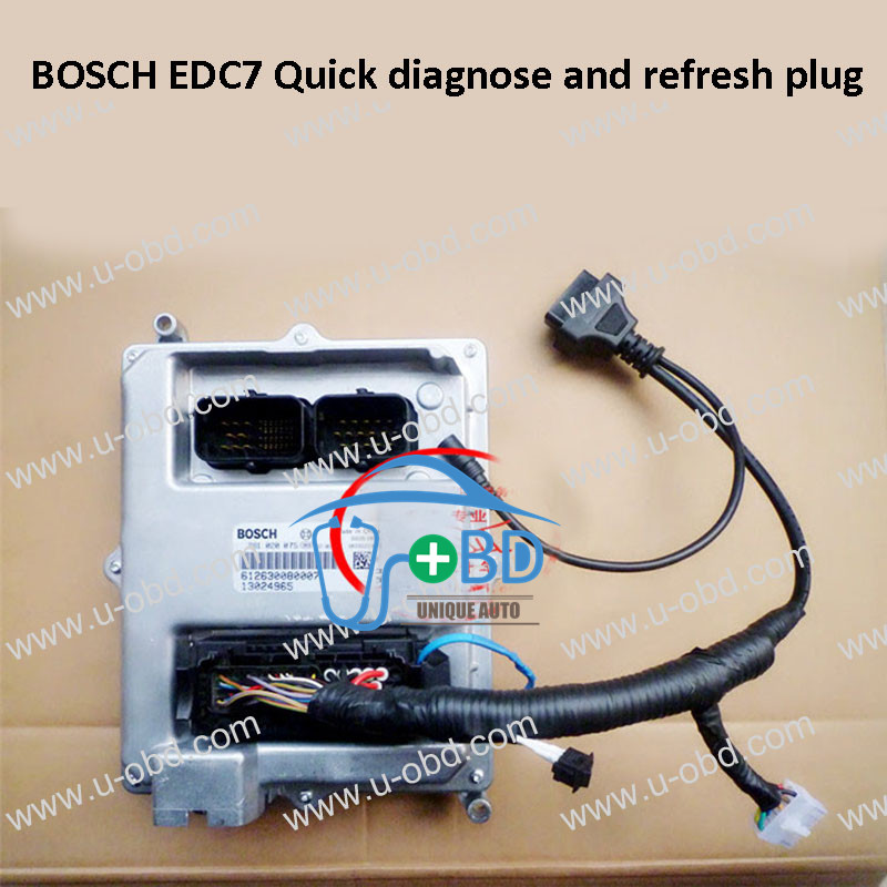 Bosch EDC7 quick diagnose and refresh plug