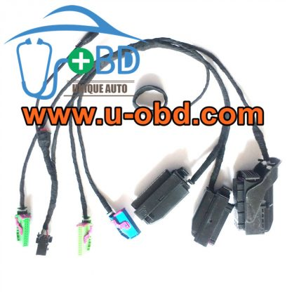 Volkswagen SKODA 35XX cluster IMMO type key programming on bench cables