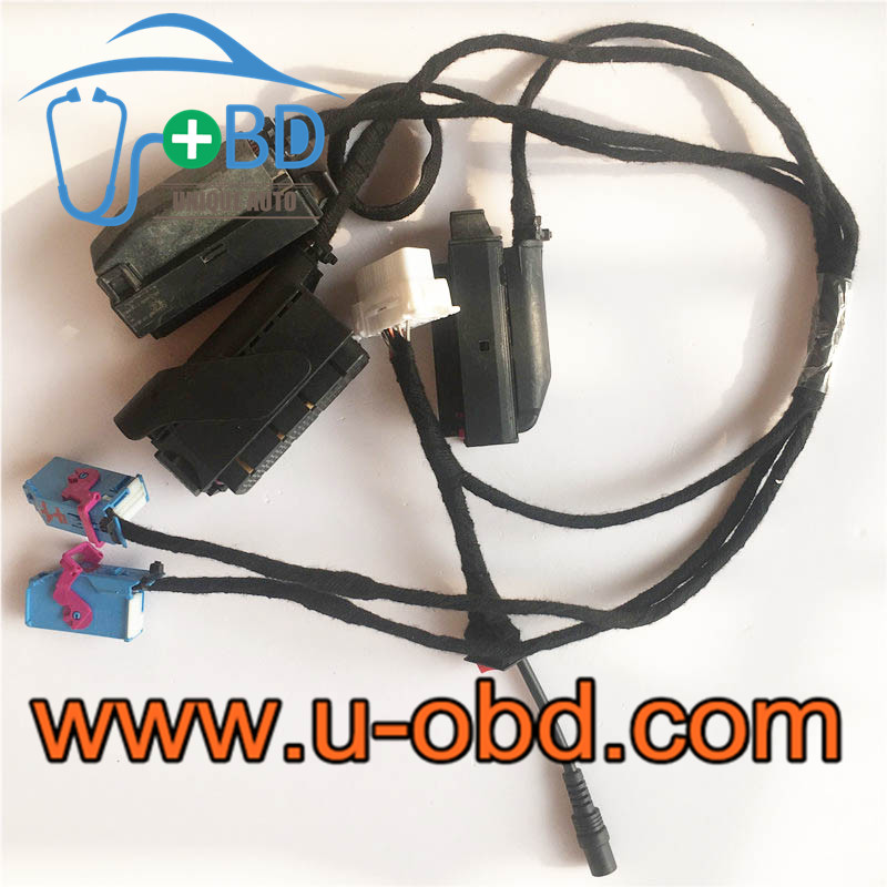 Volkswagen VW 35xx simulator key adaption test cables