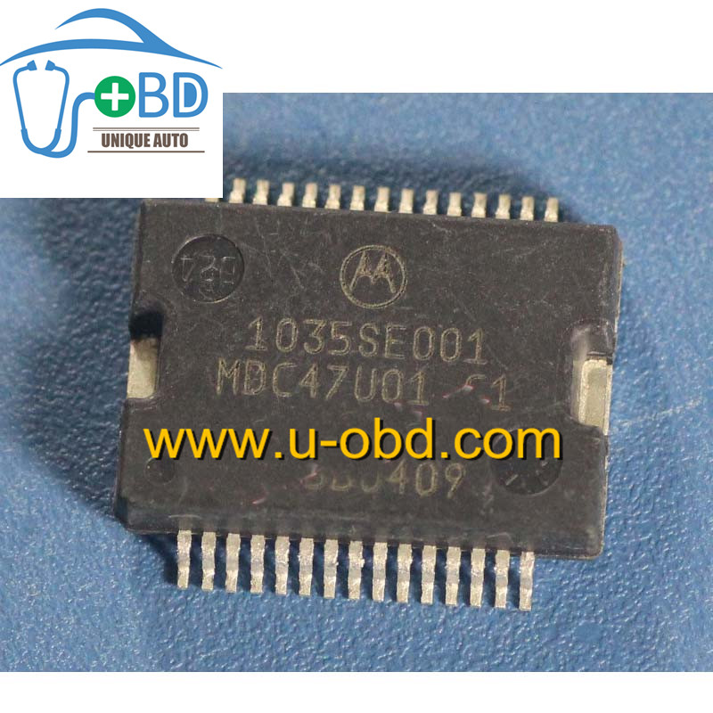 1035SE001 MDC47U01 Commonly used fuel injection driver chip for Ford ECU