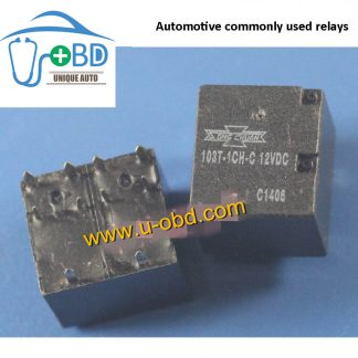 103T-1CH-C 12VDC Automotive commonly used relays 10 PIN