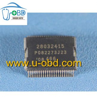 28032415 Commonly used vulnerable driver chip for Delphi MT80 ECU