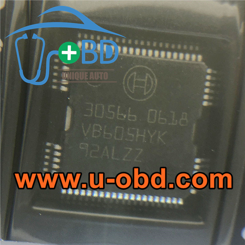 30566 BOSCH ECU Commonly used Vulnerable chips