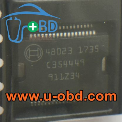 48023 BOSCH ECU Vulnerable power driver chip