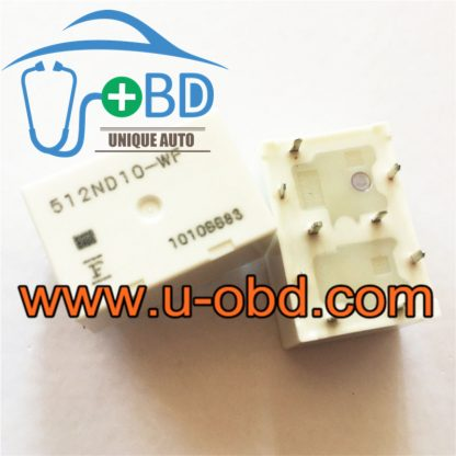 512ND10-WF automotive widely used vulnerable relays
