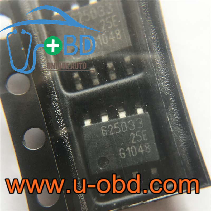 625033 Widely used vulnerable ECU CAN communication chip