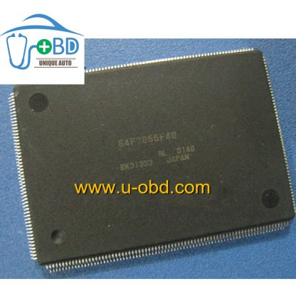 64F7055F40 Vulnerable CPU for Nissan Hitachi ECU