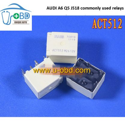 ACT512 20A 12V AUDI A6 Q5 J518 commonly used relays