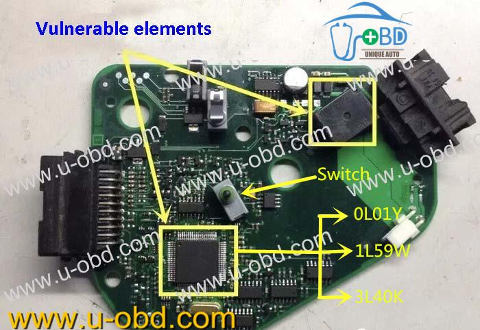 AUDI J518 repair kit