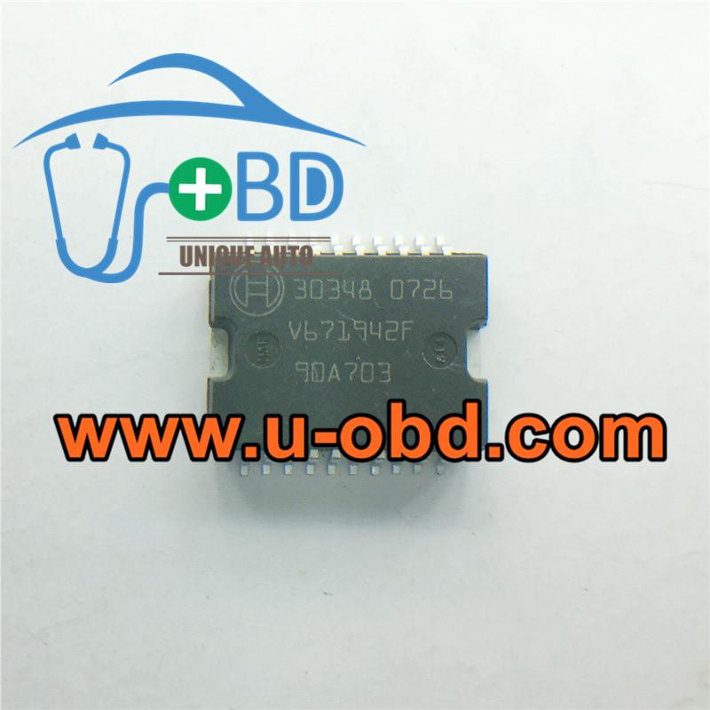 BOSCH 30348 ECU vulnerable idle throttle idle speed chip