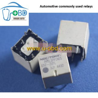 EX2-2U1L Automotive commonly used relays 10 PIN