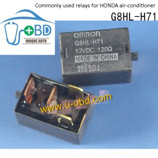 G8HL-H71 12VDC Commonly used relays for HONDA air-conditioner 4 PIN