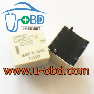 G8ND-27R 12V widely used automotive 8 feet relays