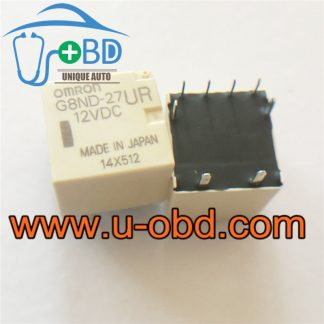 G8ND-27UR 12VDC widely used car window lifter relays