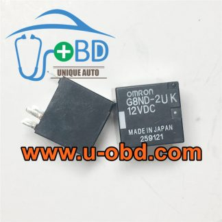 G8ND-2UK-12VDC hand brake control module relays