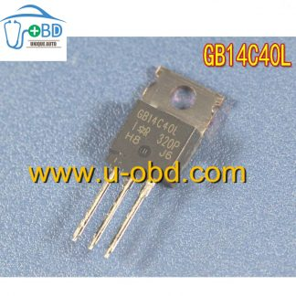 GB14C40L Commonly used ignition driver IGBT transistor chips for Delphi ECU