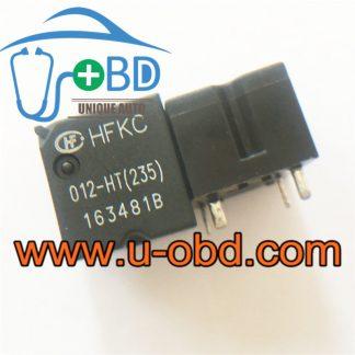 HFKC 012-HT(235) widely used automotive 4 feet relays BUICK