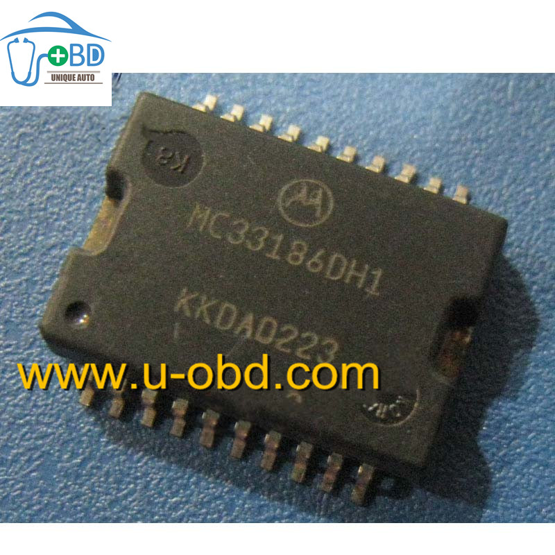 MC33186DH1 Commonly used idle throttle driver chip for Marelli ECU