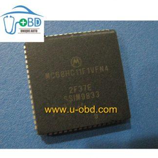 MC68HC11F1VFN4 2F37E CPU for Marelli ECU