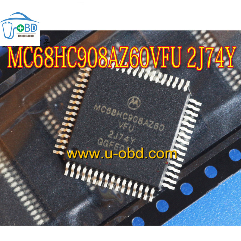 MC68HC908AZ60CFU 2J74Y Mercedes Benz EZS module CPU