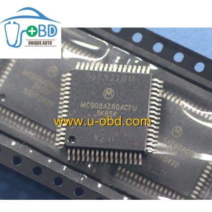 MC908AZ60ACFU 3K85K Commonly used CPU for automotive ECU